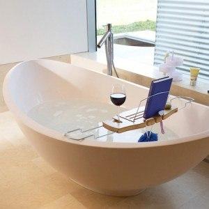 baignoire et plateau pour salle de bain BamBridge